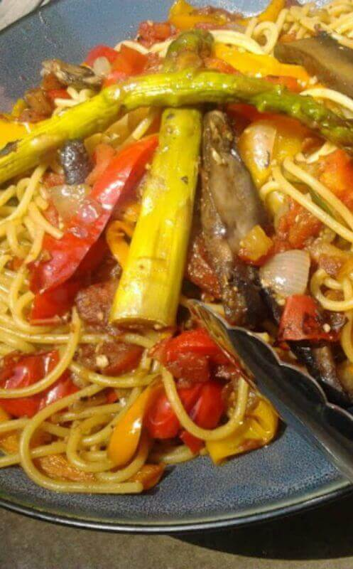 Fire Roasted Vegetable Pasta