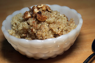 walnut quinoa