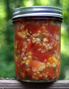 This Week's Cravings {Memorial Day Barbecue}: Fire Roasted Corn Salsa Recipe {Vegan}