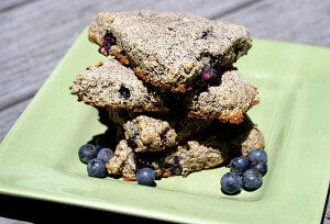 Blueberry Quinoa Scones {vegetarian, whole food}: This Week's Cravings {SUMMER BERRY RECIPES}