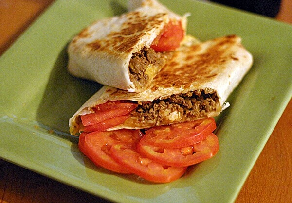 Cheeseburger Wraps