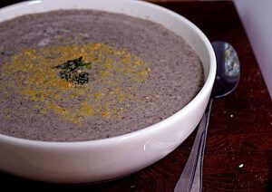 Creamy Portabella Soup Recipe #vegan #glutenfree