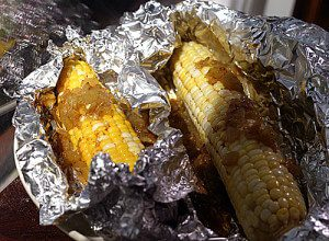 Oven Roasted Corn on the Cob #vegan