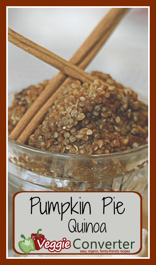 Pumpkin Pie Quinoa