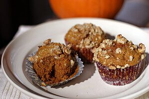 Pumpkin Sweet Potato Cupcakes