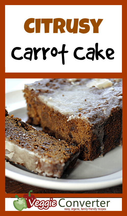 Citrusy Carrot Cake