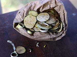 Dehydrated and Delicious: Zucchini Chips