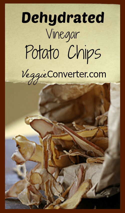 Dehydrated Vinegar Potato Chips