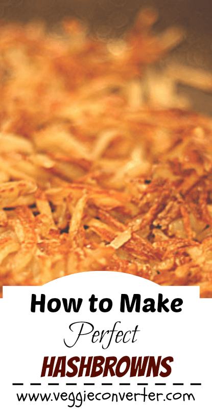 How to Make the Perfect Hashbrowns