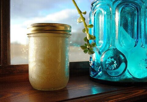 Coconut Oil Sugar Scrub
