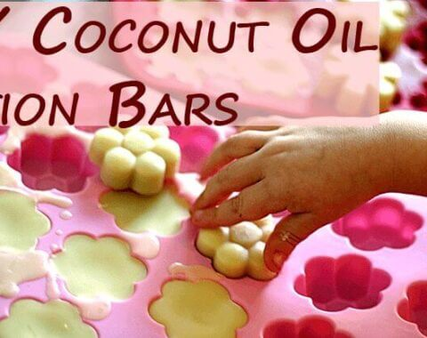 DIY Coconut Oil Lotion Bars | VeggieConverter