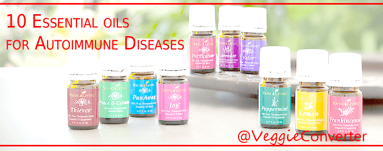 10 Essential Oils for Autoimmune Diseases | @VeggieConverter