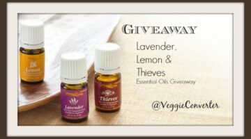 Oils Giveaway | @VeggieConverter essential oils