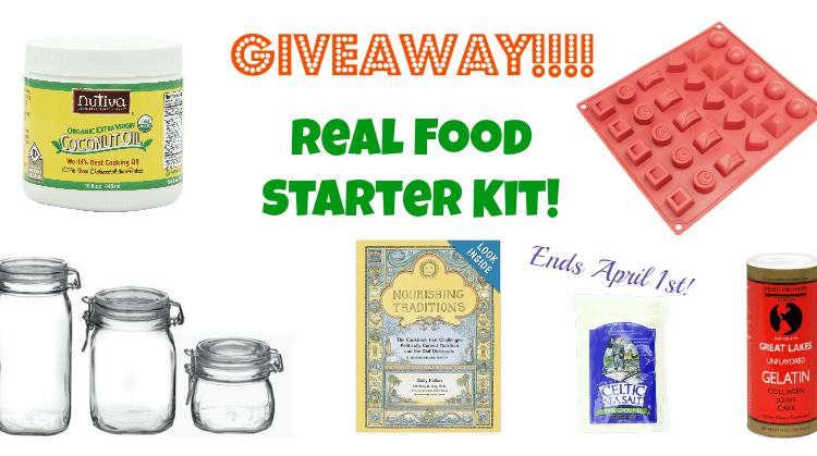 Real Food Starter Kit Giveaway | @VeggieConverter