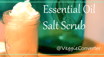 Soothing Coconut Oil Epsom Salt Scrub