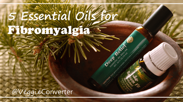 Essential Oils for Fibromyalgia | @VeggieConverter natural pain relief