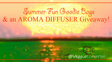 Diffuser Giveaway & Summer Fun Goodie Bags | @VeggieConverter essentialoils