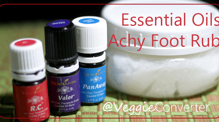 Essential Oils Achy Foot Rub