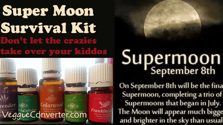 Super Moon Survival Kit: 5 Essential Oils to Calm Your Kids