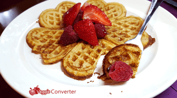 Ancient Grain Einkorn Waffles