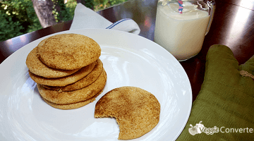 Gluten-Free Snickerdoodles with Essential Oils