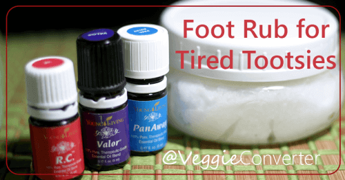 Foot Rub for Tired Tootsies