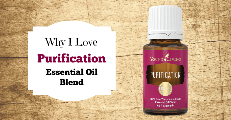Why I Love Purification Essential Oil Blend fb