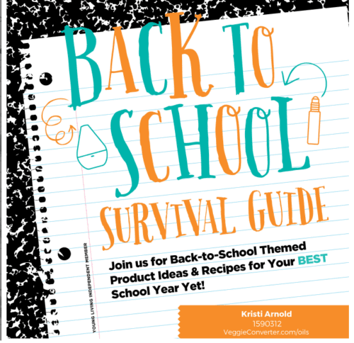 Back to School Essential Oils: A Survival Guide