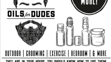 Essential Oils for Dudes