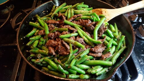 Beef and Chinese Green Beans