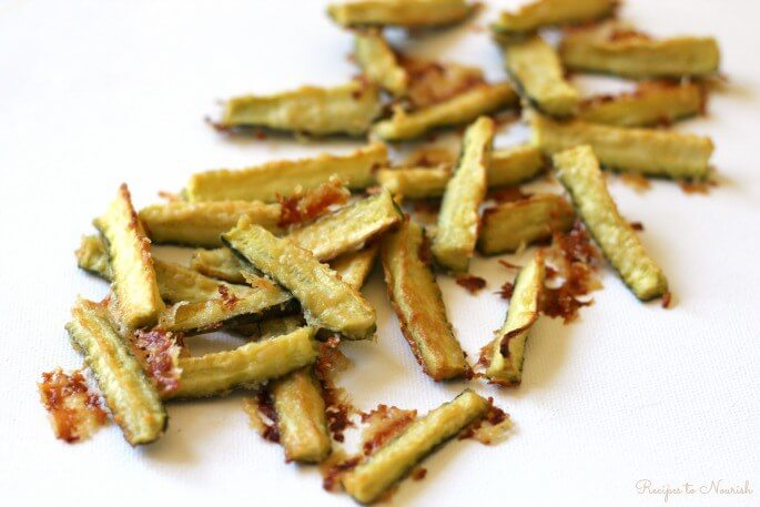 Garlic Zucchini Fries