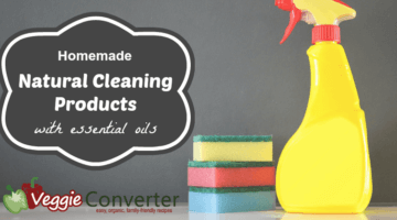Homemade Natural Cleaning Products with Essential Oils