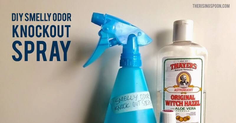 DIY Smelly Odor Knockout Spray