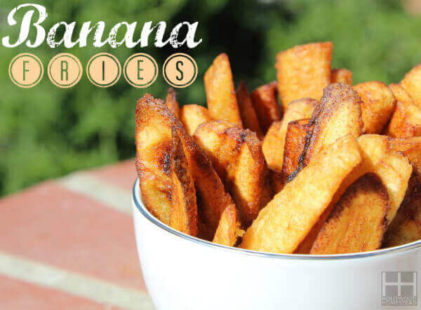 Paleo Banana Fries
