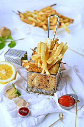 Crispy Parsnip Fries