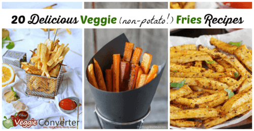 20 Veggie Fries Recipes (Non-Potato!)