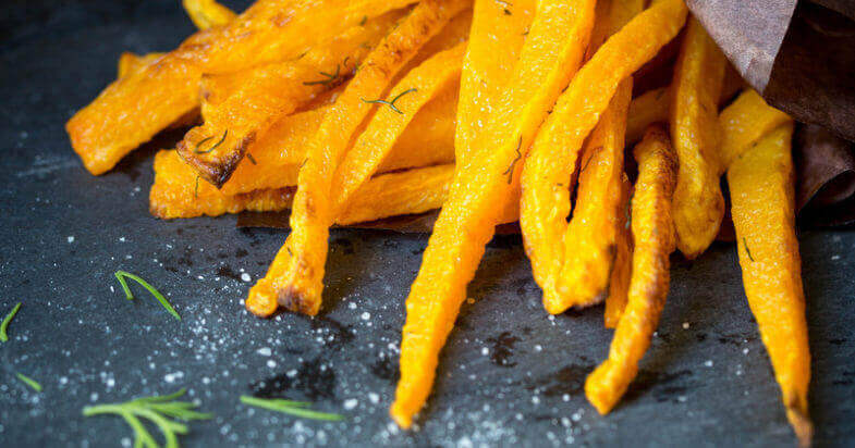 Dill Butternut Squash Fries