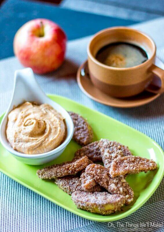 Paleo Baked Apple Fries