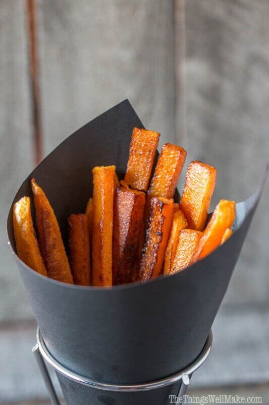 Paleo Pumpkin Fries