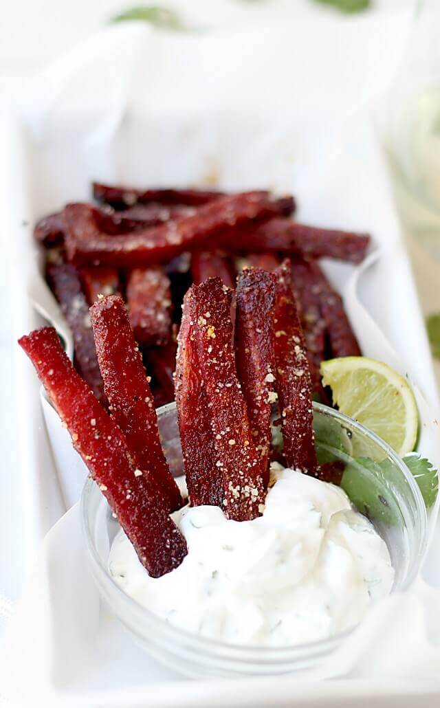 Roasted Beet Fries