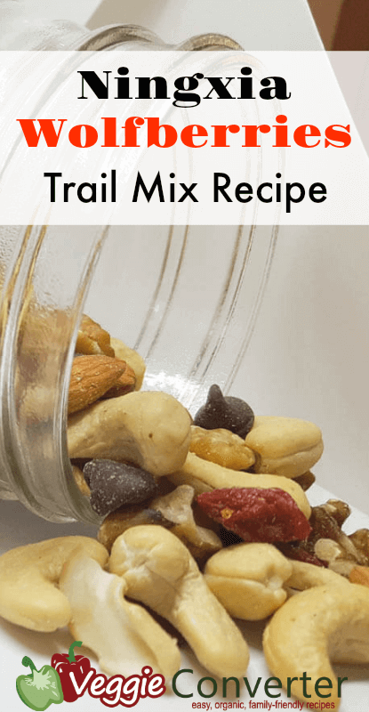 Ningxia Wolfberries Trail Mix Recipe