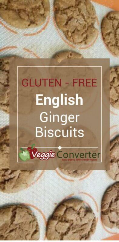 Gluten-Free English Ginger Biscuits
