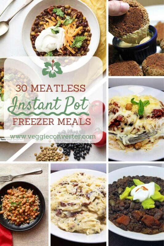 Meatless IP Freezer Meals