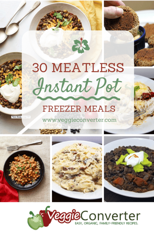 30 Meatless Instant Pot Freezer Meals 7