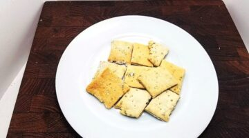 Sourdough Crackers