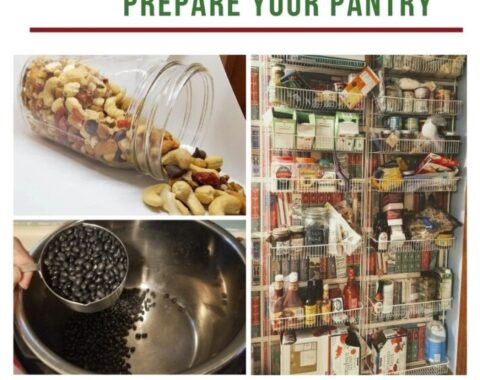 Prepare your Pantry